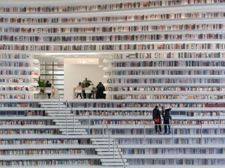 Tianjin Binhai Halk Kütüphanesi