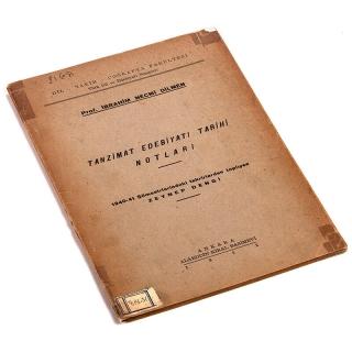 037. Tanzimat Edebiyatı Tarihi Notları