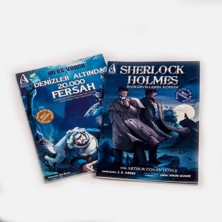039. Sherlock Holmes + Denizler Altında 20,000 Fersah