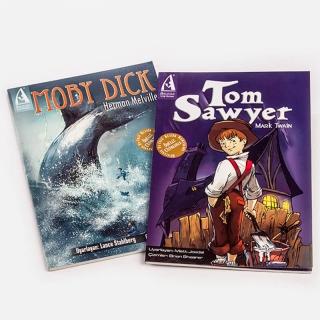 043. Tom Sawyer + Moby Dick