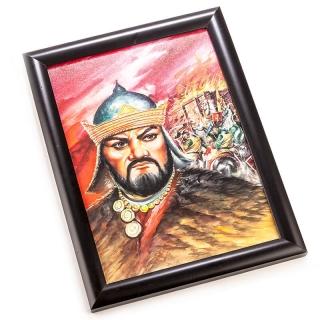 3. Hun İmparatoru Atilla - Guvaş Tablo