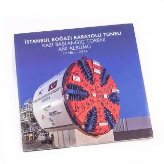 17.İstanbul Boğazı Karayolu Tüneli Kazı Başlangıç Töreni Anı Albümü 19 Nisan 2014